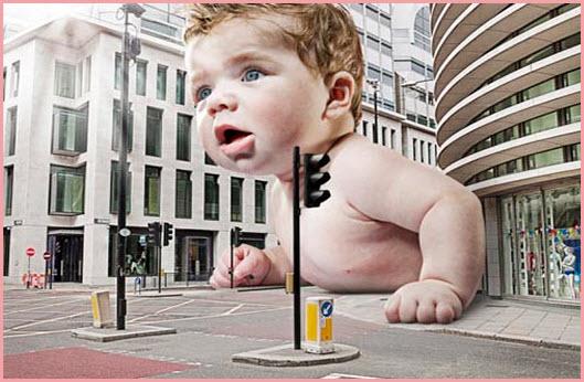 Фото самого большой новорожденный ребенок в мире
