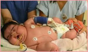 Самый большой новорожденный.