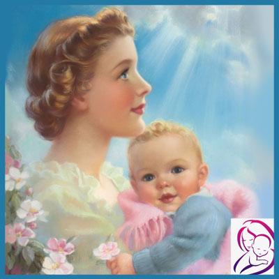Мать с младенцем материнство
