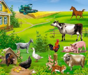 Семейная игра. Ферма онлайн.