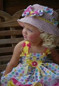 Девочка-модель Айра Браун - настоящая кукла.