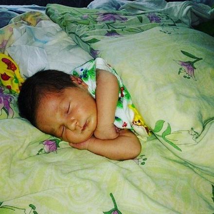 Новорожденный первый день дома