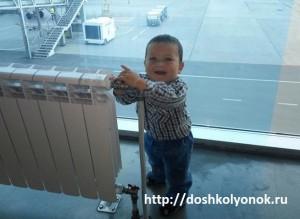 На отдых в Сочи с внуком Мишаней. Как преодолеть истерику ребёнка в самолёте?