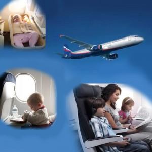 Как облегчить ребёнку полёт на самолёте?