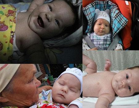 Нашему малышу Мишане ровно 2 месяца!