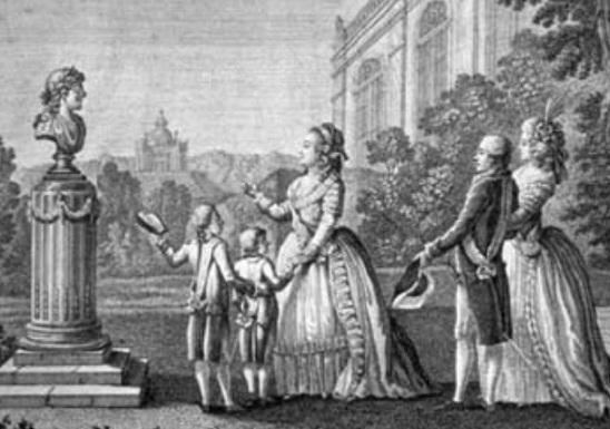 Екатерина II - педагог на троне (часть 2)